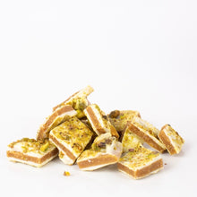 Load image into Gallery viewer, Classic White Pistachio Toffee (Seasonal)