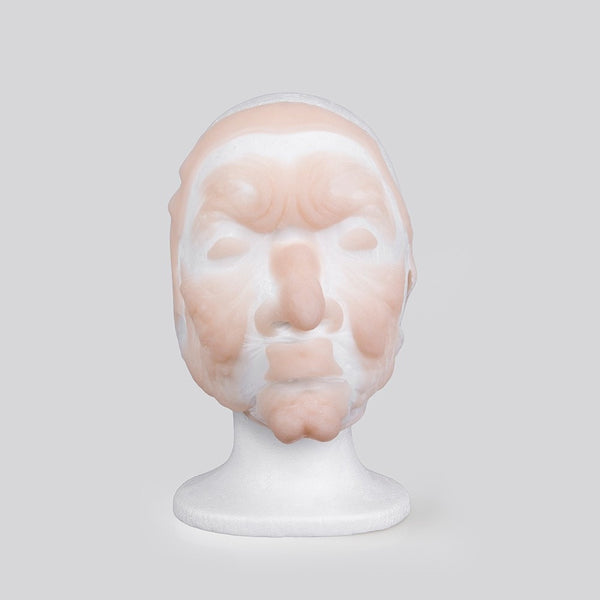 Full Face Silicone Prosthetics - type 1 (Plat-Sil Gel-10 Full Face) - multiface