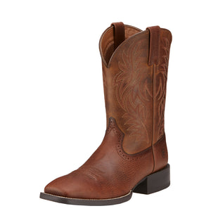 Ariat Sport Wide Sq Toe Brown 10016291