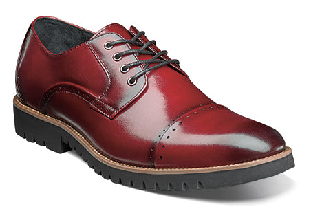 Stacy Adams BARCLIFF Cranberry 25216-608