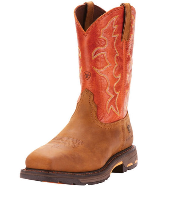 Ariat 10006961 Workhog Wide Sq Steel Toe