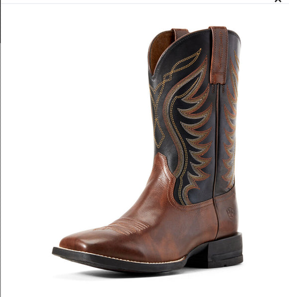 Ariat 10029689 Amos Western Brown/Black