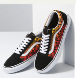 Vans Old Skool Logo Flame