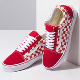Vans Old Skool Check Red VN0A38G1POT