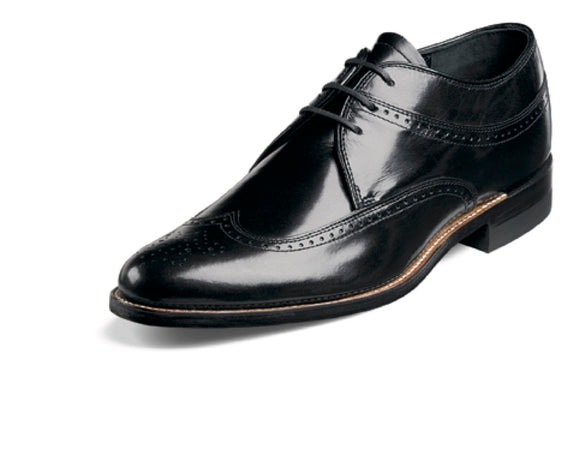 Stacy Adams Dayton Smooth Leather Wingtip Lace up