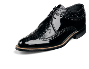 Stacy Adams Dayton Ostrich Print  Wingtip Lace up