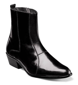 Stacy Adams Santos Leather Sole Plain Toe Boot