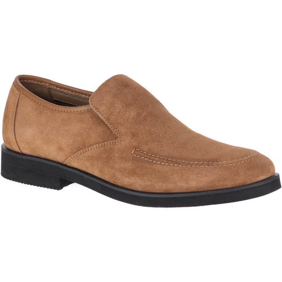 Hush Puppies Bracco MT Slip-On Cinnamon Suede