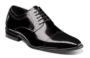 Stacy Adams Sanborn Perfed Cap Toe Oxford