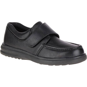 Hush Puppies Gil Black Leather
