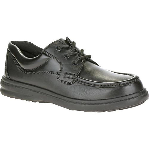 Hush Puppies Gus Black Leather