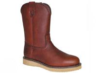 "Work Zone 10"" Full Grain Leather Soft Toe"