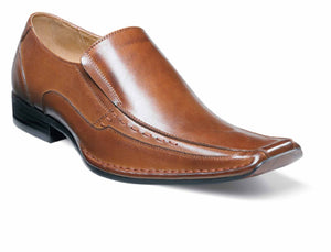 Stacy Adams Templin  Leather Bike Toe Loafer Slip On