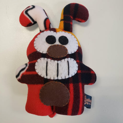 "Handmade Bogie Kansas City Chiefs 8.5"" Plush (Limited Edition) - Furry Feline Creatives"