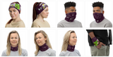 Super Avocadog Face Mask / Neck Gaiter - Purridge & Friends - Furry Feline Creatives