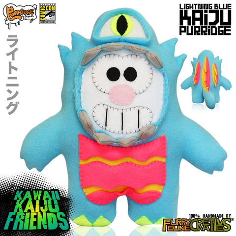 Handmade Kawaii Kaiju Purridge (Limited Edition) - Furry Feline Creatives