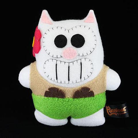 Handmade Coconut Purridge Plush (Limited Edition) - Purridge & Friends - Furry Feline Creatives