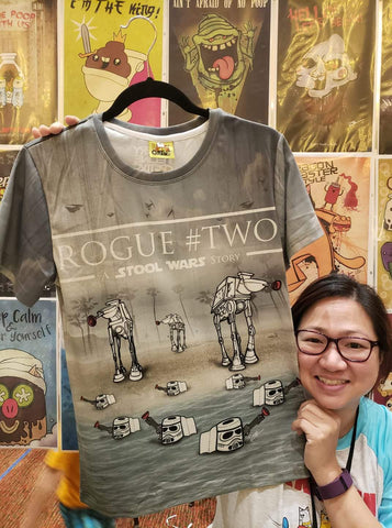 All-Over Print Rogue Two Shirt - Furry Feline Creatives - Furry Feline Creatives