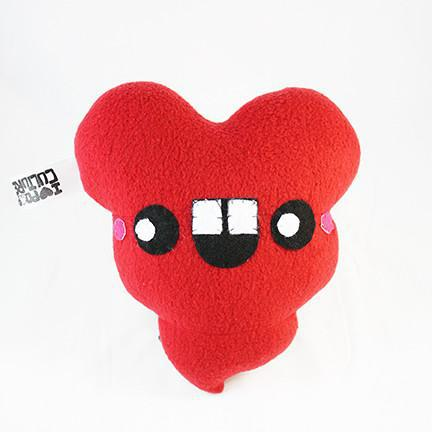 "8-inch ""I Love You, I Doo"" Handmade Plush - I Heart Poop Culture - Furry Feline Creatives"