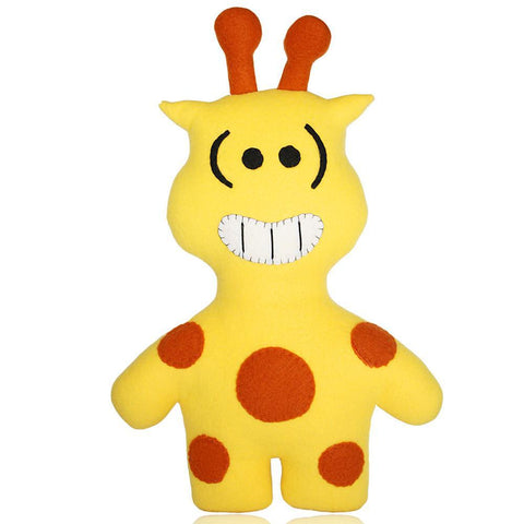 "Handmade Kirin The Giraffe Plush 18"" Classic - Purridge & Friends - Furry Feline Creatives"