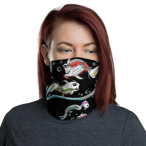 Koi Face Mask / Neck Gaiter - Purridge & Friends - Furry Feline Creatives