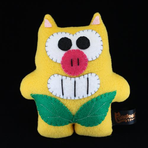 Handmade Mango Piga Plush (Limited Edition) - Purridge & Friends - Furry Feline Creatives