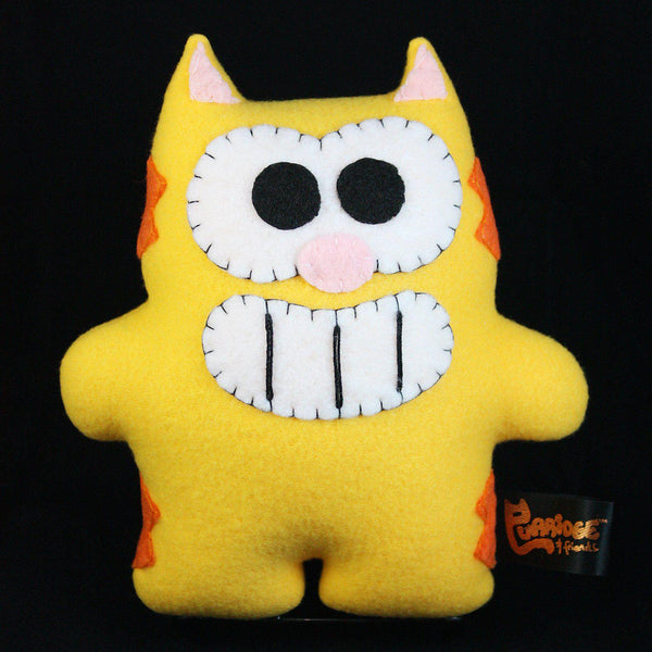 "Handmade Mini Ringo the Cat 7"" Plush - Purridge & Friends - Furry Feline Creatives"