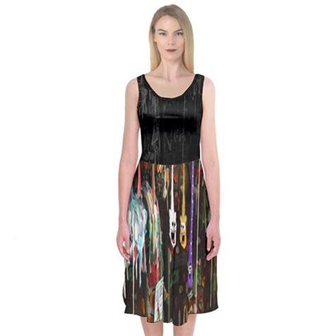 PF Gumwall Midi Sleeveless Dress