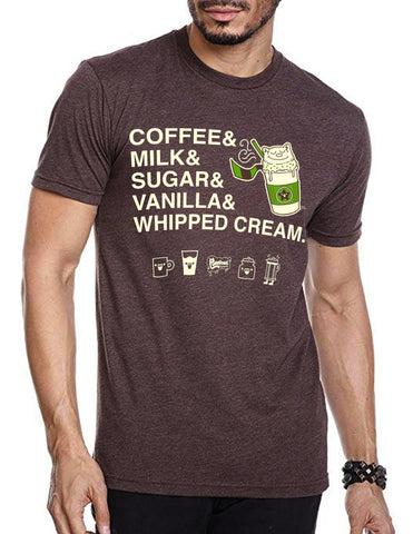 Purridge Frappe Men's Tee