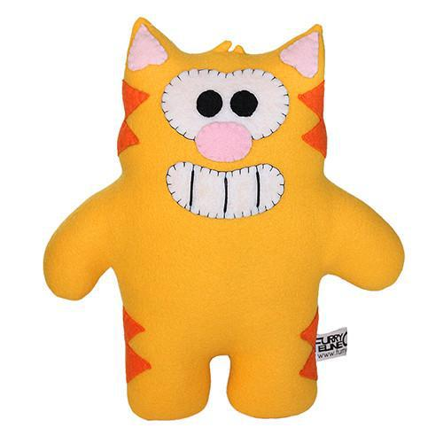 "Handmade Ringo the Cat Plush 12"" Classic - Purridge & Friends - Furry Feline Creatives"