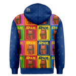 Purridge Spam Unisex Zipper Hoodie - Purridge & Friends - Furry Feline Creatives