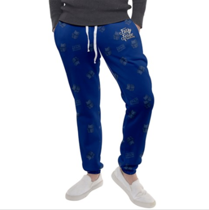 Purridge Spam Men's Sweatpants - Furry Feline Creatives