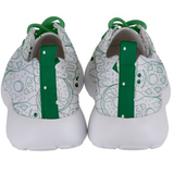 Krazy Kreme Donut Mens Sneakers - Purridge & Friends - Furry Feline Creatives