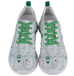Go Kray Kray Over Doughnuts Mens Sneakers - Furry Feline Creatives - Furry Feline Creatives