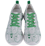 Go Kray Kray Over Doughnuts Mens Sneakers - Purridge & Friends - Furry Feline Creatives
