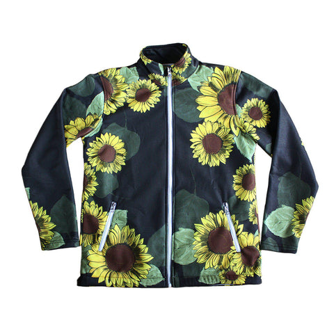 FFC Sunflower Women's Jacket - Furry Feline Creatives - Furry Feline Creatives