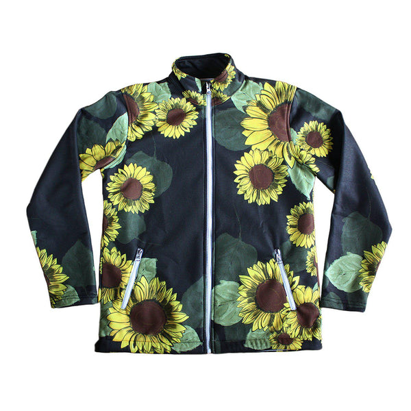 FFC Sunflower Women's Jacket - Purridge & Friends - Furry Feline Creatives