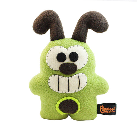 "Handmade Super Toasty Avocadog 8.5"" Plush (Limited Edition) - Purridge & Friends - Furry Feline Creatives"