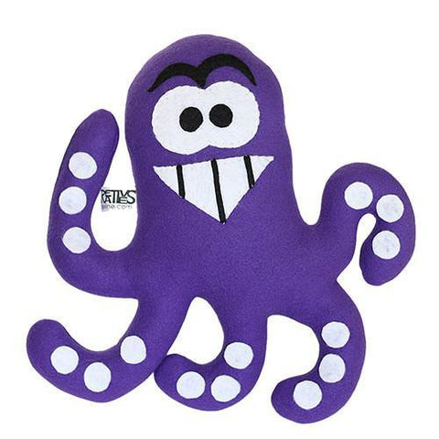 "Handmade Chef Tako the Octopus Plush 12"" Classic - Purridge & Friends - Furry Feline Creatives"