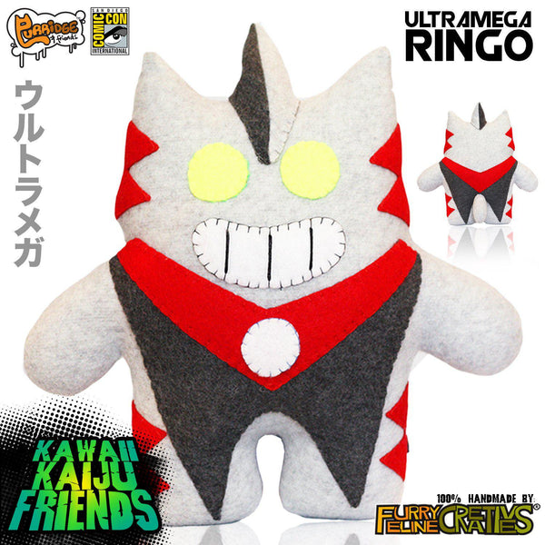 Handmade Ultra Mega Ringo (Limited Edition) - Purridge & Friends - Furry Feline Creatives