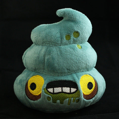 Poopie Zombie Plush - I Heart Poop Culture - Furry Feline Creatives