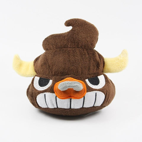 The Bull Plush - I Heart Poop Culture - Furry Feline Creatives