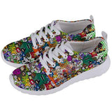 PF Collage Mens Sneakers - Purridge & Friends - Furry Feline Creatives
