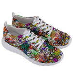 PF Collage Womens Sneakers - Purridge & Friends - Furry Feline Creatives
