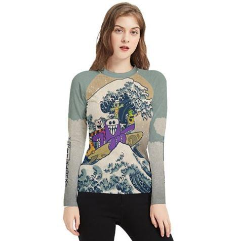 Hi Wave Aloha Women's Long Sleeve Rash Guard