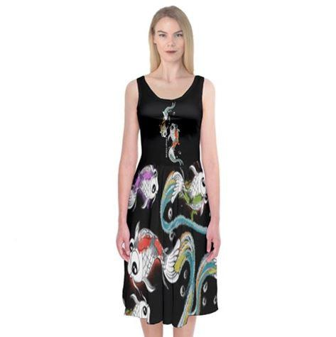Koi Black Midi Sleeveless Dress