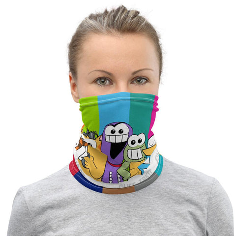 PF Characters Face Mask / Neck Gaiter - Purridge & Friends - Furry Feline Creatives
