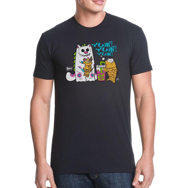 Purridge Negora Men's Tee - Purridge & Friends - Furry Feline Creatives