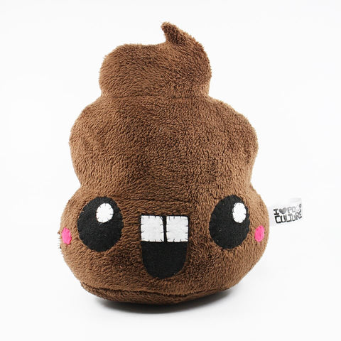 "Handmade Jumbo Ultrasoft Poop 12"" Plush - I Heart Poop Culture - Furry Feline Creatives"