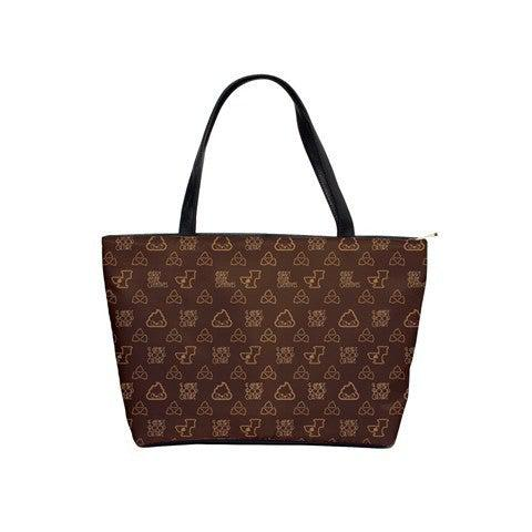 Poopie Vuitton Shoulder bag - I Heart Poop Culture - Furry Feline Creatives